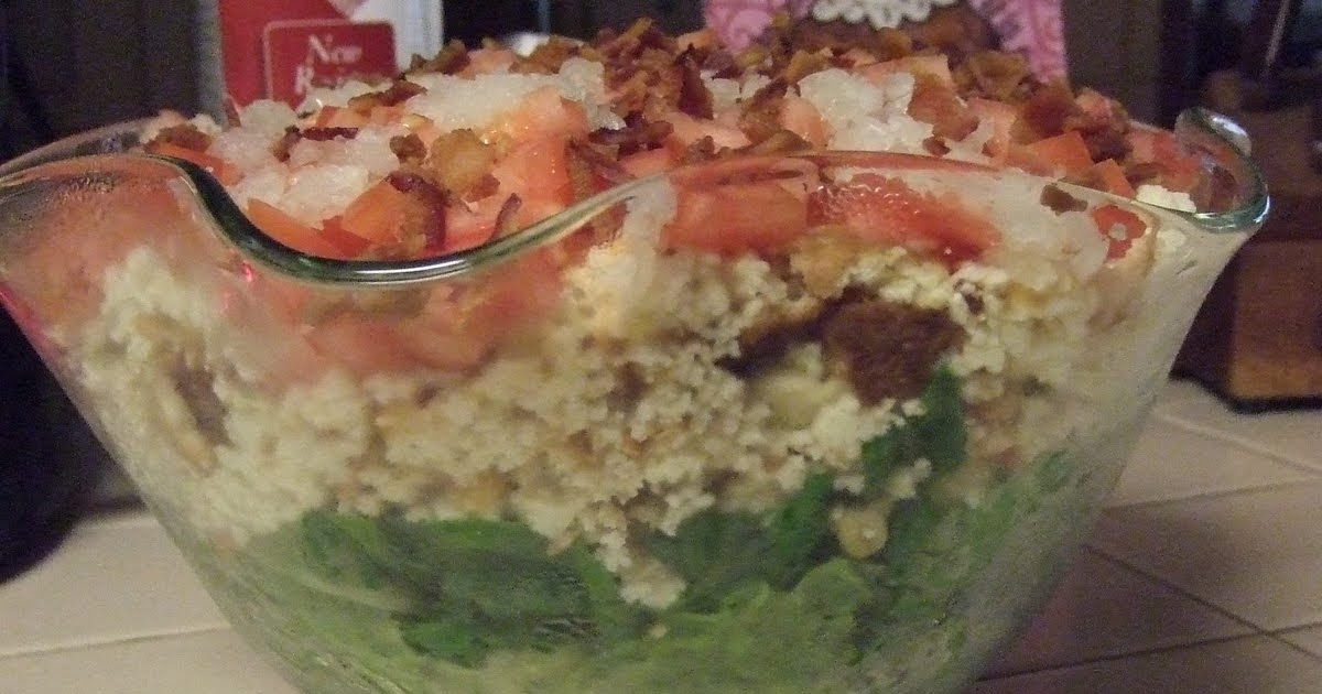 Cooking With Mer Cornbread Salad With French Dressing