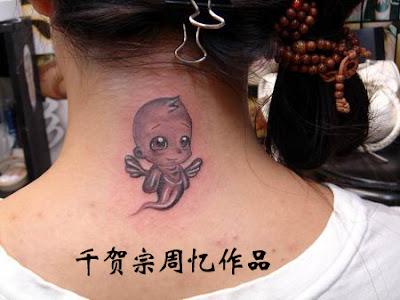 thunder god tattoo design art