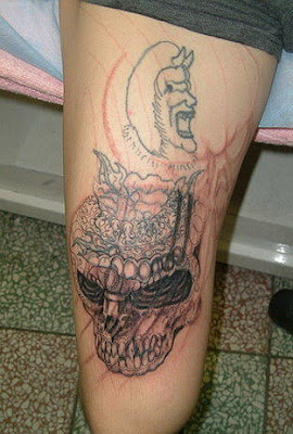 skull free tattoo designs