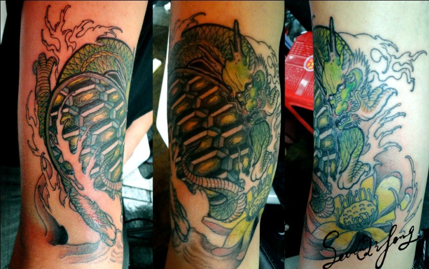 free dragon tattoo designs. Free Tattoo Designs: Dragon