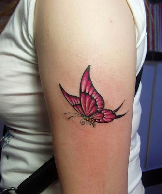 picture of butterfly tattoo. Butterfly tattoo design