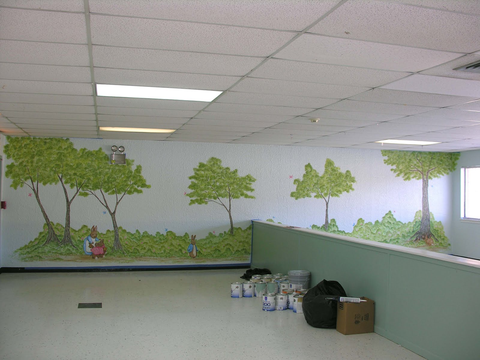 Liza bean designs peter rabbit nursery for the first step peter rabbit nursery for the first step learning center amipublicfo Images