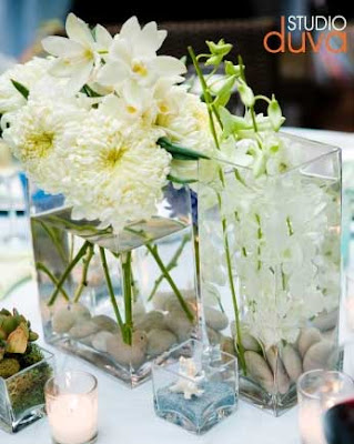 A White Orchid Wedding Centerpiece From Classic Creations Back Next
