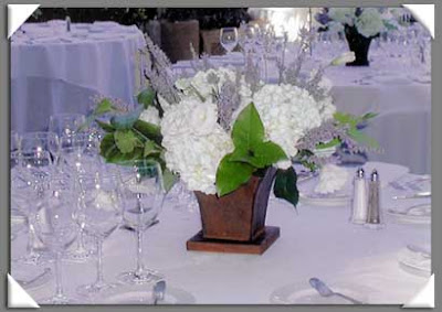 White Hydrangea Wedding Centerpieces on White Hydrangea And Lavender Wedding Centerpiece   Wedding Flower