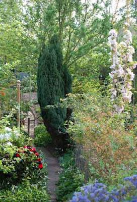 Lewes Garret garden, UK