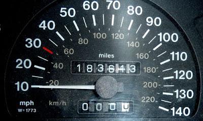 Astra Martin speedometer