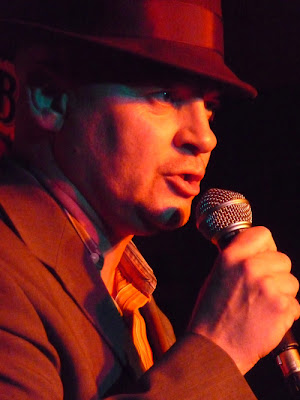 Mac McFadden performing at OxFringe 2009