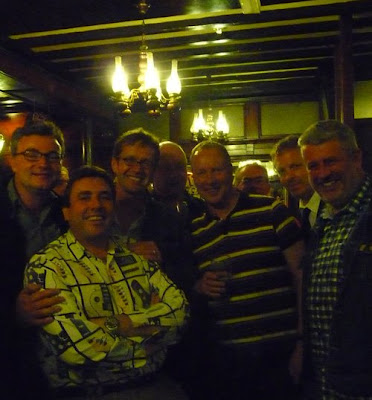 Hull Daily Mail reunion in Black Boy pub, Hull