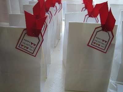 Easy Valentine's Day Gift Bag Tags