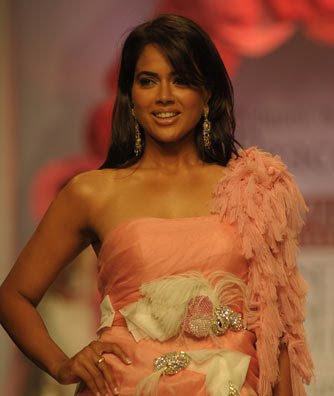 sameera reddy on the ramp