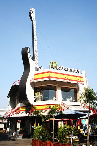 Mighty Lists 25 Unusual McDonalds Restaurants
