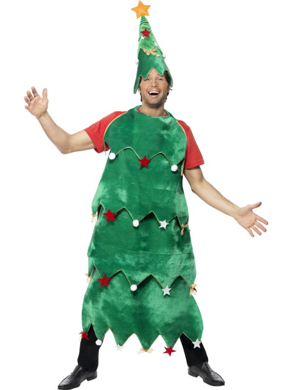 Adult Deluxe Christmas Tree Costume 33301