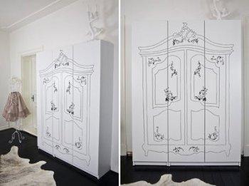 Muebles customizados fatidica gala deco miscelanea for Schrank zeichnen