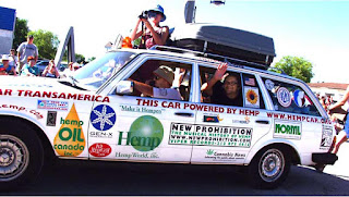 hemp car mercedes wagon powered by hemp fuel