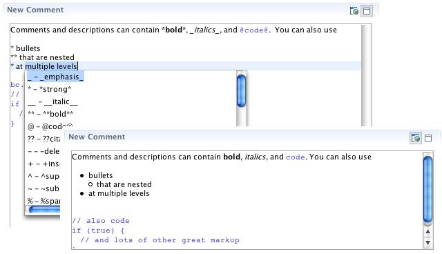 Task Editor Integration