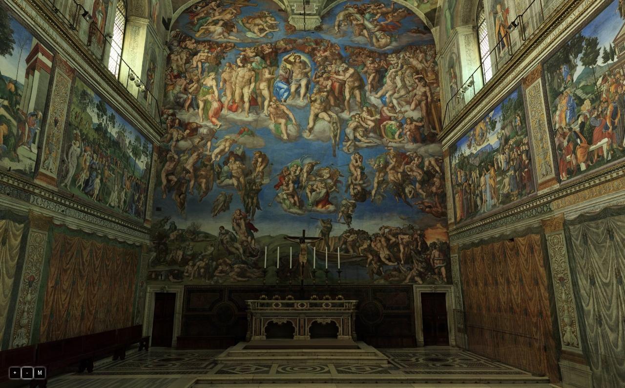 Dario cavedon iced la cappella sistina in 3d - Le finestre sul vaticano ...