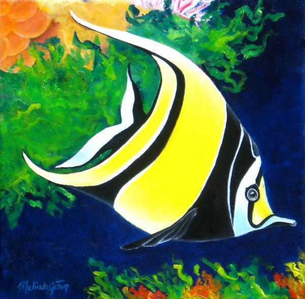 Phity 5 ikan tercantik di dunia for Moorish idol fish
