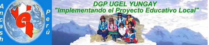 DGP UGEL YUNGAY