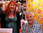 Me and Kaffe Fassett at the Festival Of Quilts 2010