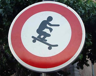 skater sign