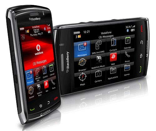 Blackberry Storm2 9520 Smartphone Specifications