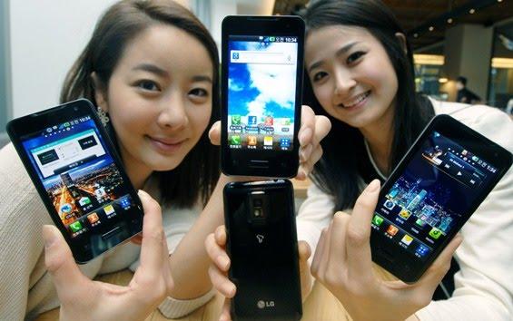 LG Optimus 2X Dual Core Smartphone