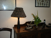 Bespoke Feather Lampshade