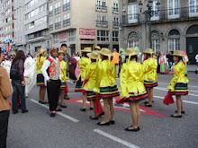 Taller de Danza del la Asociación  Cultural Chiribaya  Ilo Perú de Vigo España
