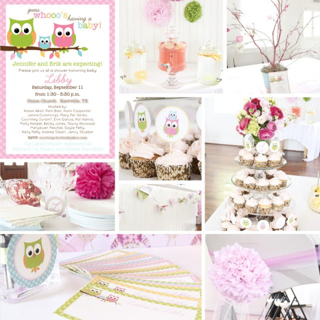 Owl Baby Shower Supplies: Kara's Party Ideas Babies Are A Hoot