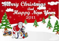Selamat Natal dan Tahun Baru 2011