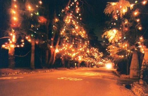 A Blog Away From Home: Neighborhood Christmas Light ...