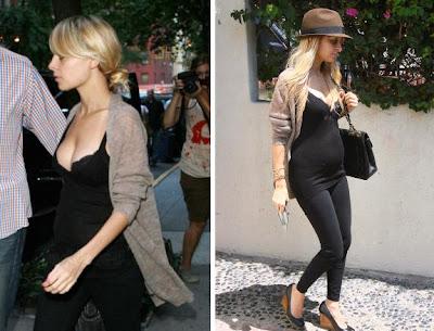 Nicole richie pregnancy picture