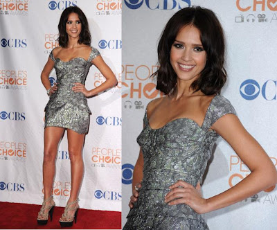 jessica alba hair color 2010. 2010 PEOPLE#39;S CHOICE AWARDS