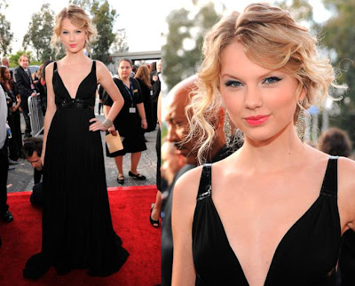 taylor swift 2009 grammy. Taylor Swift. Edgy, but sweet at the same time.