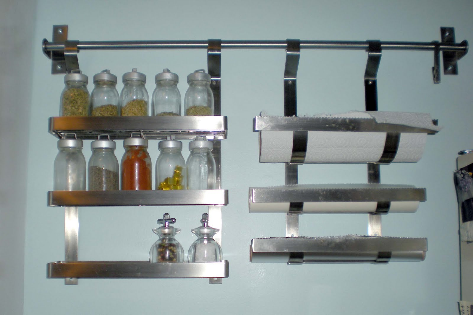 Ikea Grundtal Spice Rack. Great Ikea Grundtal Stainless Steel ...