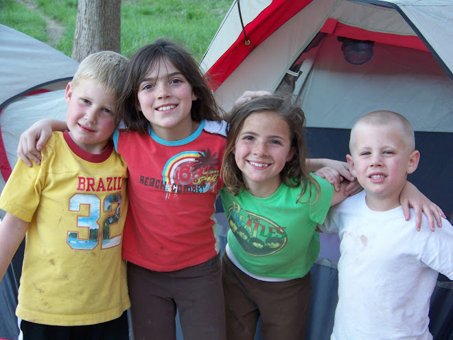D.J., Aspen, Autumn, & Luke enjoying Zion Park