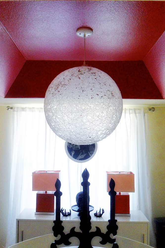 diy string pendant lamp desert domicile