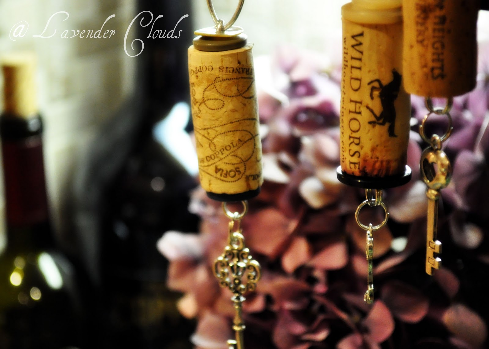 Ornaments made from wine corks - Wine Cork Ornaments
