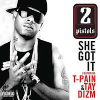 2 pistols   she got it  feat