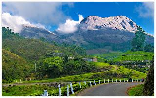 Munnar hillstation in Kerala