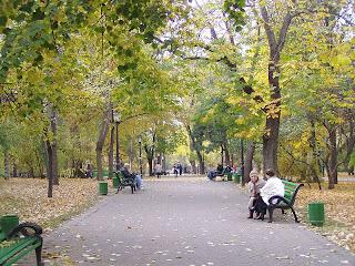 Chisinau central park