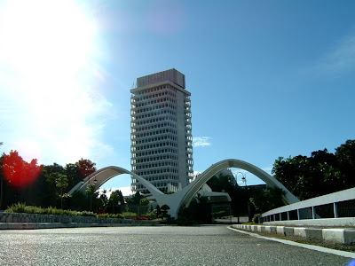 Malaysian parliament building