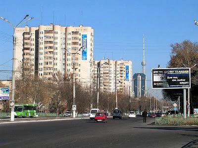 A Tashkent street