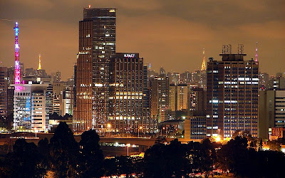Sao Paulo night view