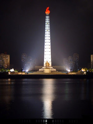 Juche Tower, North Korea