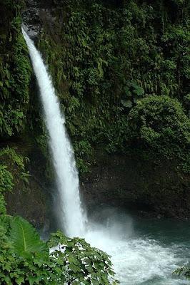 La paz water falls