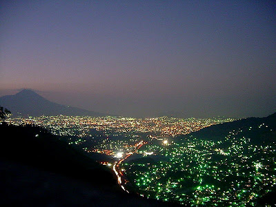 San Salvador night view