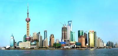 Shanghai's Lujiazui skyline