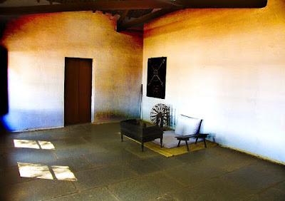 Mahatma Gandhi's room  in Sabarmati ashram