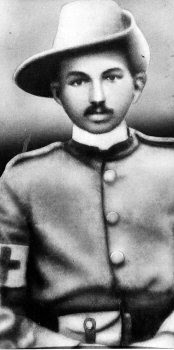 Mahatma Gandhi serving in Boer war